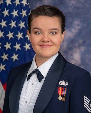 Official photo of Technical Sgt. Nicole Vander Does, soprano vocalist with The United States Air Force Singing Sergeants. (U.S. Air Force Photo by MSgt Brandon Chaney/released)