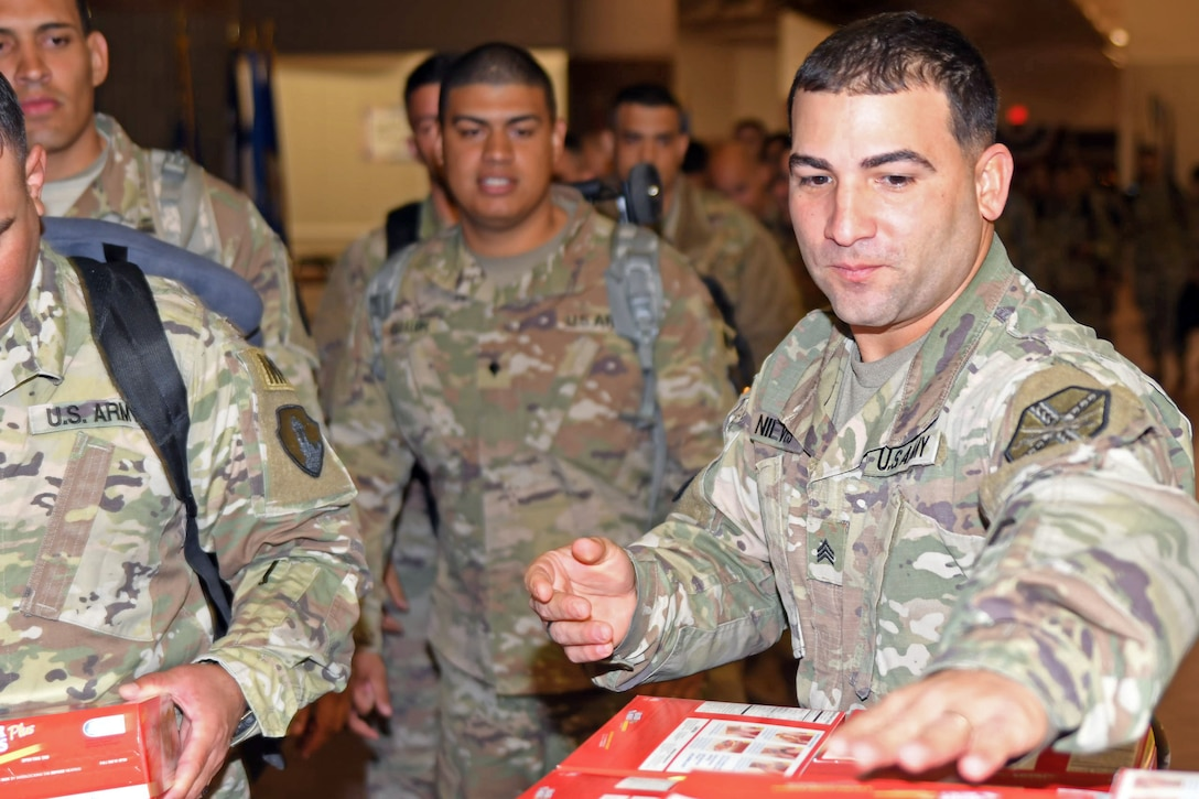 613th Military Police Company returns from Cuba
