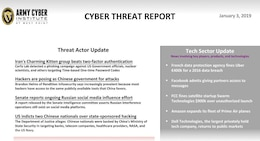 Cyber Threat Report January 03, 2019