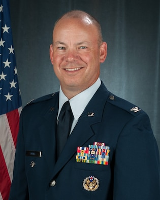 Official portrait of U.S. Air Force Col. William Davis, 157th Air Refueling Wing vice commander, New Hampshire Air National Guard, July 11, 2017, Pease Air National Guard Base, N.H.