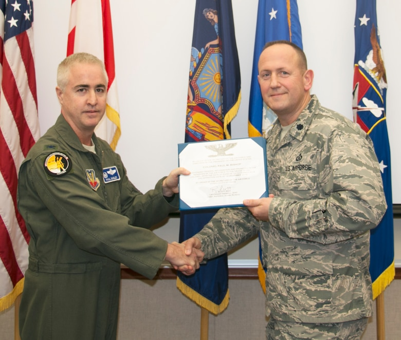 Bishop Promoted to Colonel