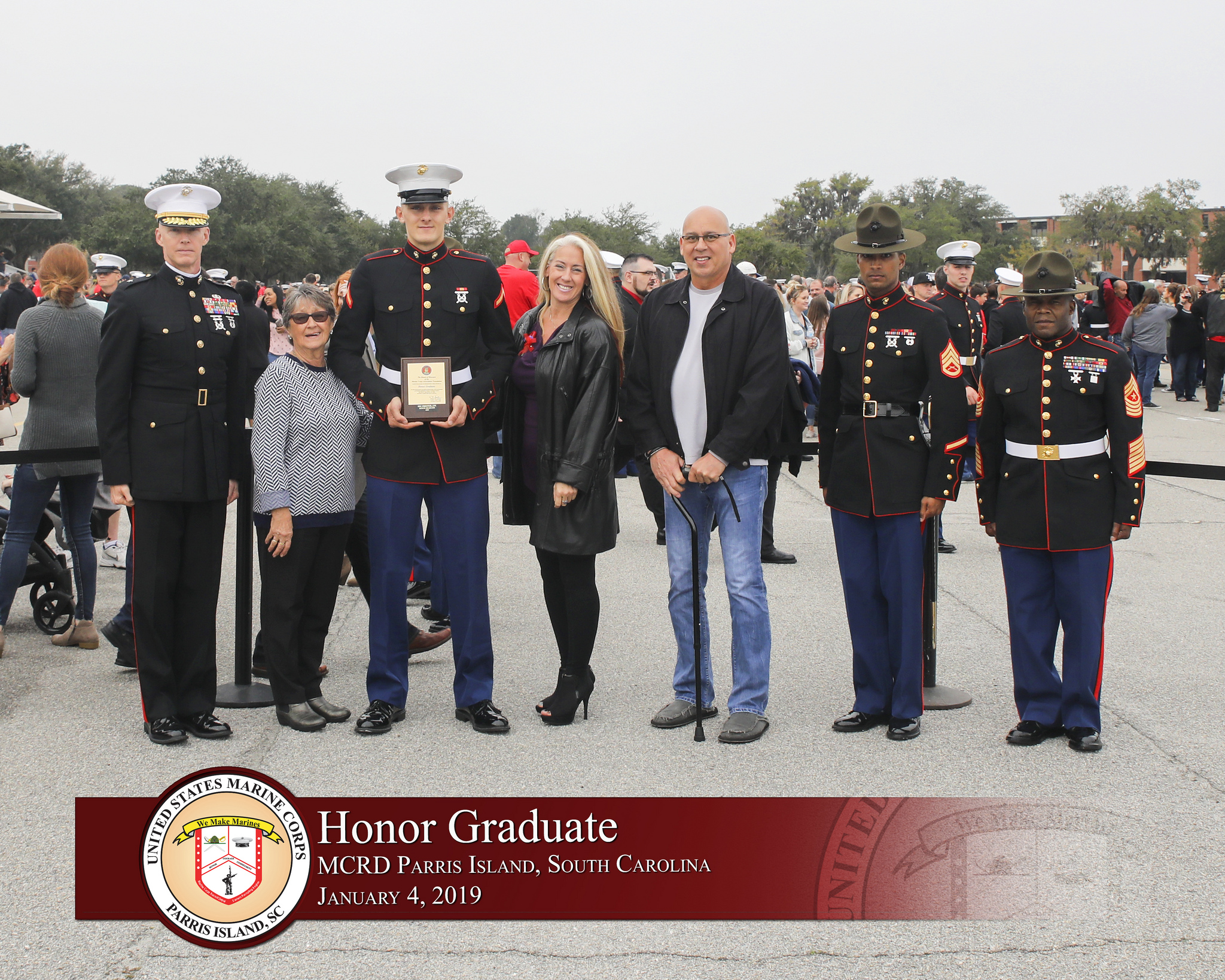 Palm Harbor, Florida native earns platoon honor graduate