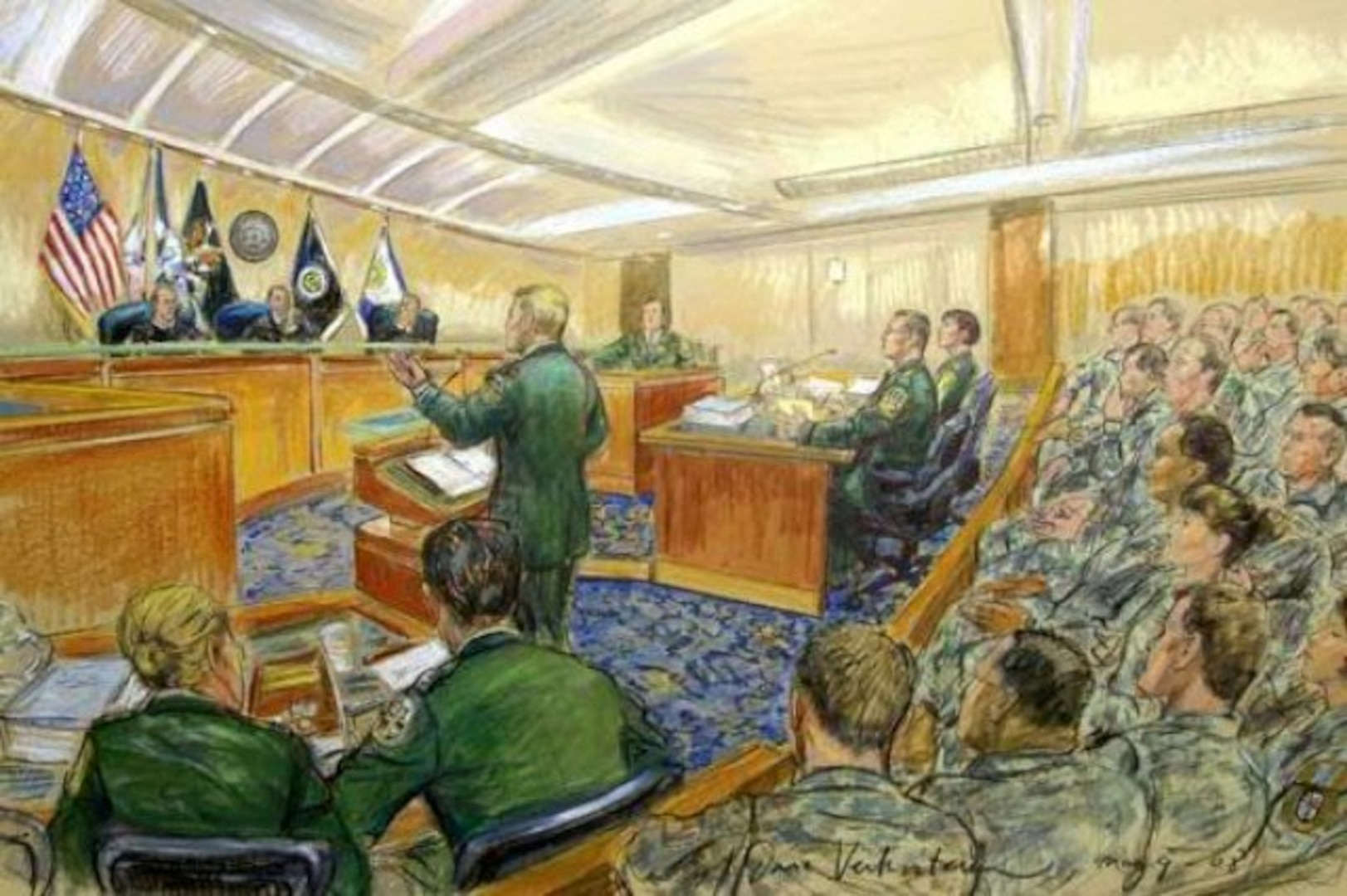 Changes to Uniform Code of Military Justice Take Effect This Week