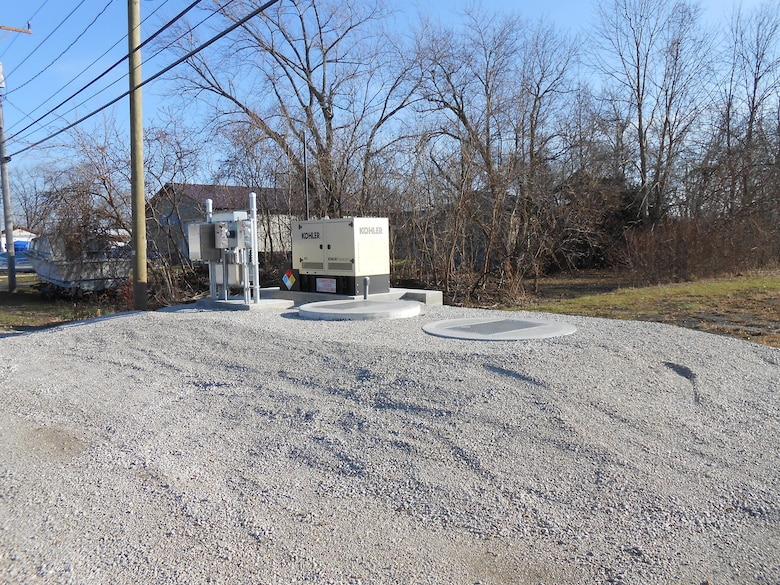 The Ottawa County Sanitary Engineering Department completed Phase I of the Erie Township Sanitary Sewer Project with partial funding through the Water Resources Development Act of 1999 (Public Law 106-53), Section 594 program administered by the U.S. Army Corps of Engineers (USACE).