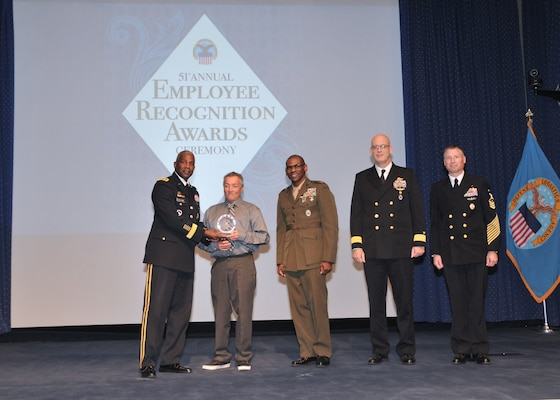 San Joaquin's Aguilar honored as top employee at annual DLA aw