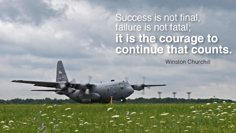 This week's Monday Motivation comes from Winston Churchill: