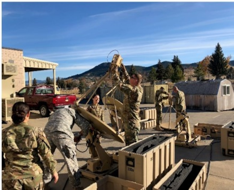 Personnel from the 364th ESC's SAMSO conducted a three-day staff assistance visit to the 652nd RSG in Helena, Montana, to ensure that not only the unit's VSATs and CAISI equipment are fully mission capable and current on all software, but that operators are also trained in the setup, operation and tear down of the VSAT. Equipment upgrade was critical to the VSAT and CAISI laptops, given without it they be non-mission capable.