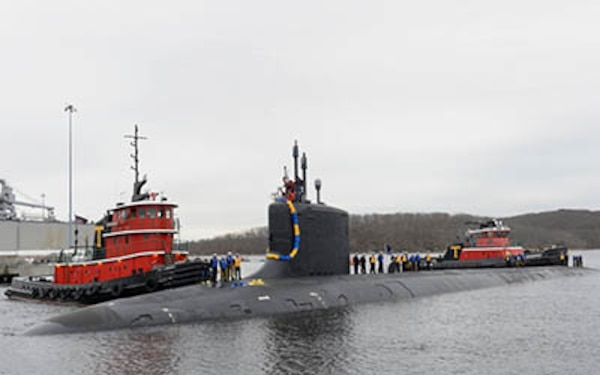 New NUWC Division Newport employees take a tour of USS Virginia