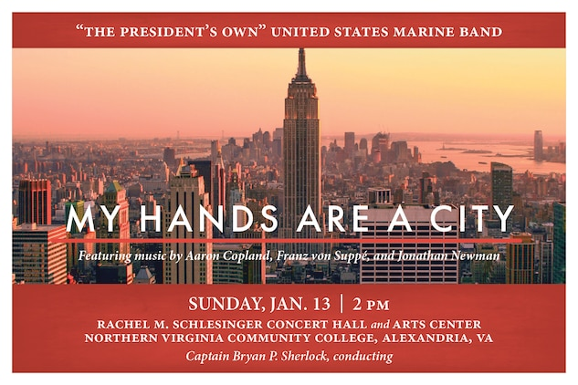 Marine Band Concert: My Hands Are a City