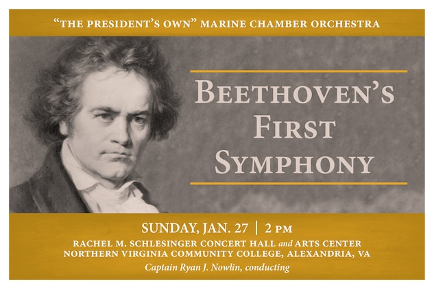 Marine Chamber Orchestra: Beethoven's First Symphony