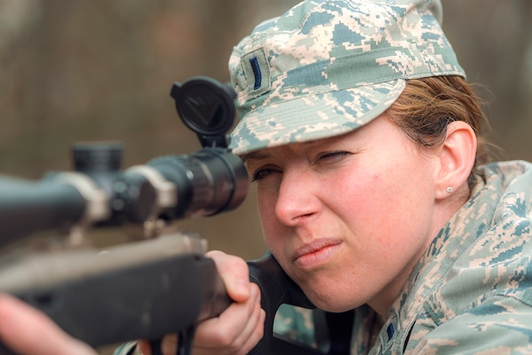 On Target: Illinois Guard Human Resource Officer Was Air Force's First Female Sniper