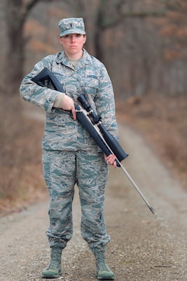 On Target: Illinois Guard Human Resource Officer Was Air Force's First Female Sniper [Image 2 of 2]