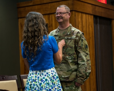 Illinois Promotes Top Chaplain [Image 2 of 2]