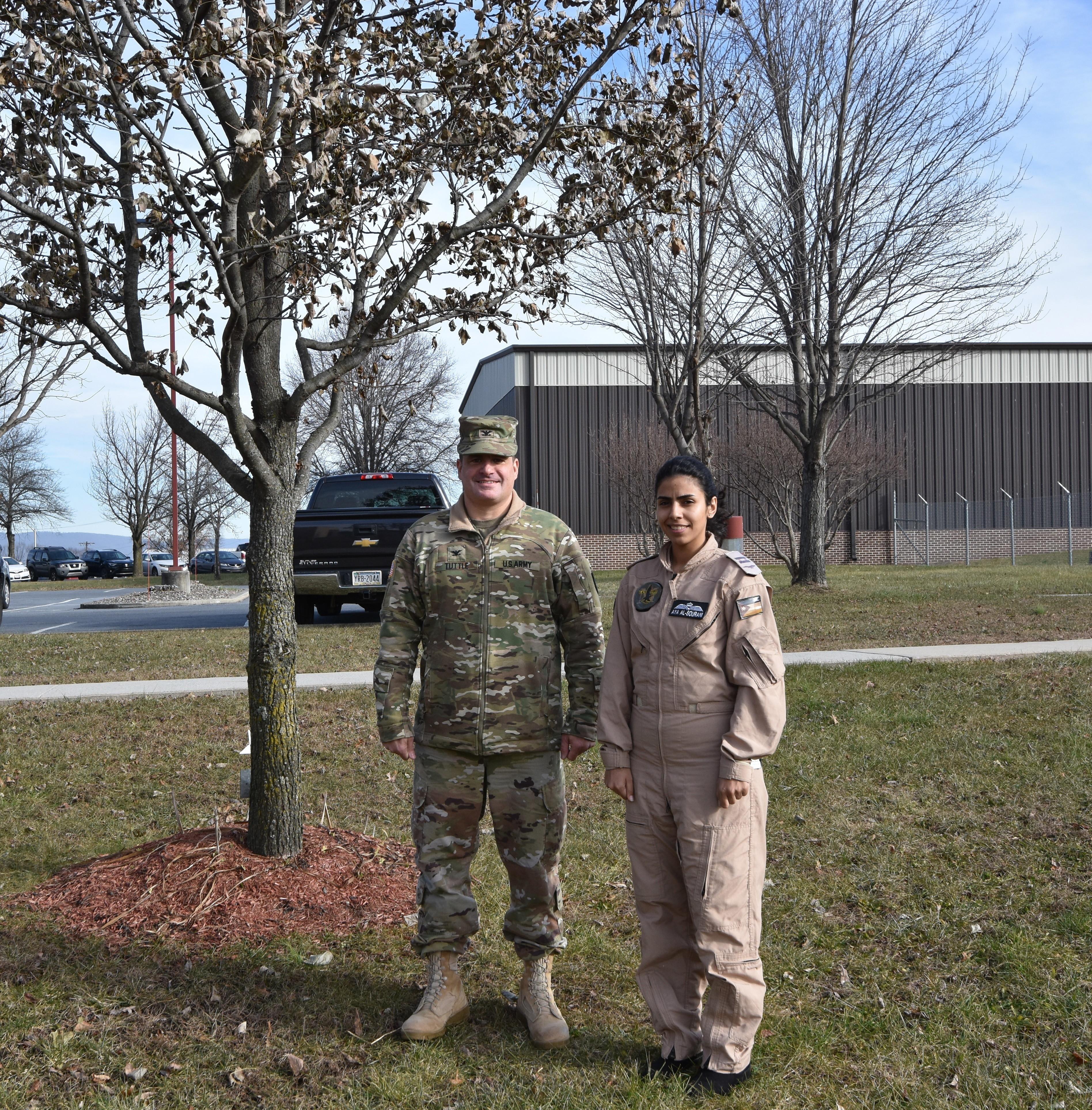 23920adfed First female Royal Jordanian aviator trains in Pennsylvania ...