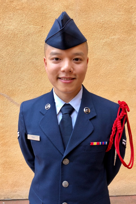 U.S. Air Force Airman 1st Class Toan Tran, 517th Training Group student, poses for a photo. (Courtesy photo)