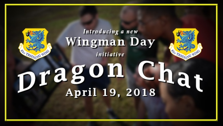 Graphic for Wingman Day. (U.S. Air Force graphic by Capt. David Murphy)