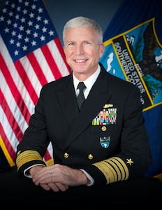 Official biography photo of U.S. Navy Adm. Craig S. Faller, commander of U.S. Southern Command.