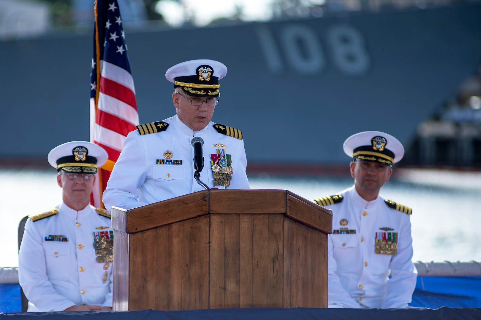 Submarine Squadron 1 welcomes new commander