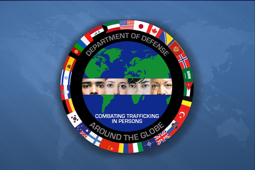 Combating Trafficking graphic