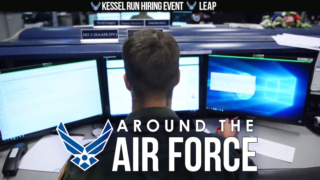 On this look Around the Air Force, fifty software techs will be hired at the Kessel Run Boston Hiring Event and interested cadets can apply for the Language Enabled Airman Program. Hosted by Senior Airman Cory Kuttler.