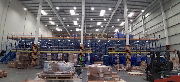 New warehouse site for DLA Distribution Navy Bahrain doubles storage capacity