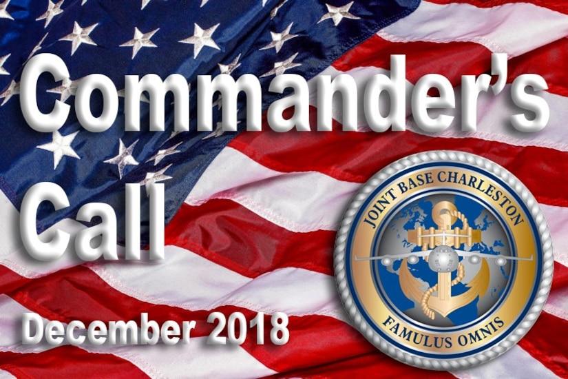 Commander's Call - December 2018