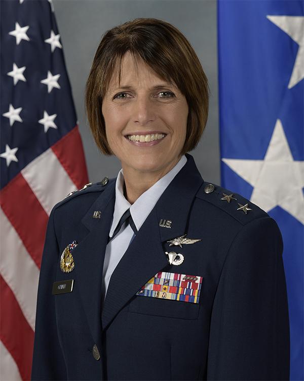 Portrait photo of Maj. Gen. Crider