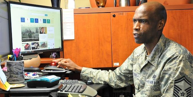 Senior Master Sgt. Kwame Tawiah