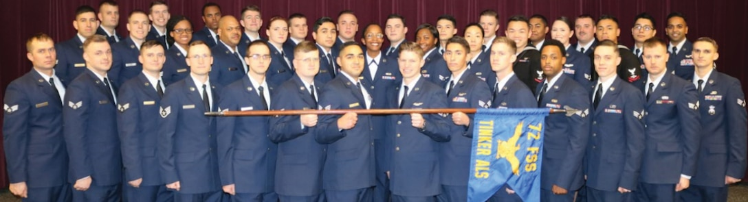 Airman Leadership School Class 19-A graduates.