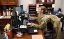 Staff Sgt. Noelle Altman has to keep things organized for her job as the executive for the 72nd Air Base Wing Command Chief, even though it is already in her nature to do so. She even organizes as a way to let off steam!