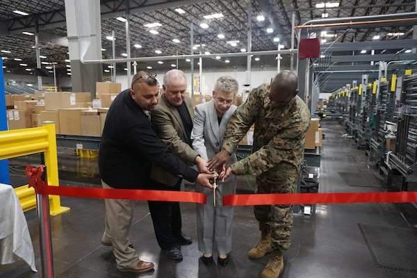 DLA Distribution San Joaquin holds ribbon-cutting ceremony for redesigned Consolidation and Containerization Point