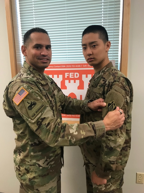 District welcomes first two Korean Augmentation to the U.S. Army Soldiers