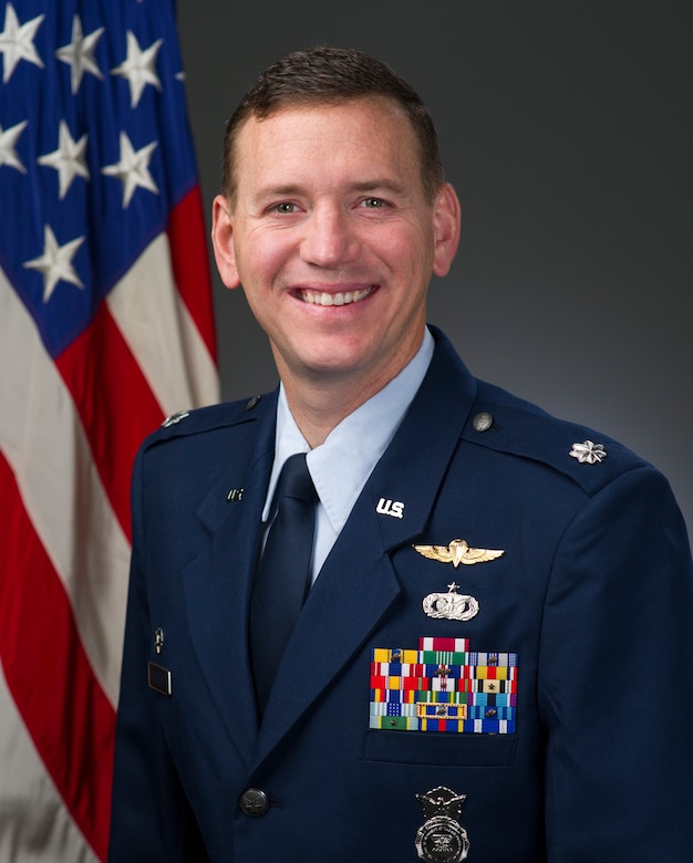 Lt. Col. David Temple official photo