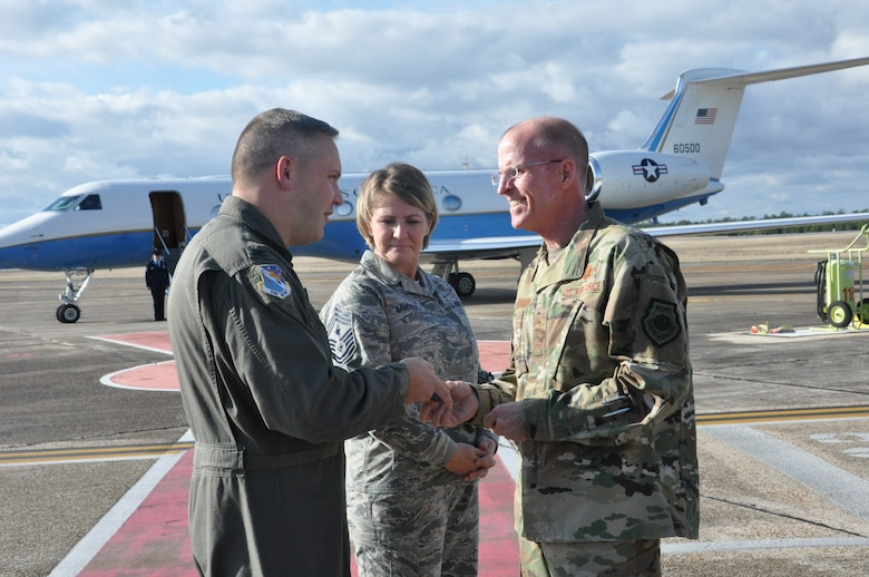 Vice Chief of Staff tours 53rd Wing at Eglin AFB, Florida