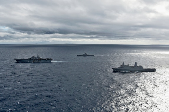 U.S. Navy, JMSDF conduct cooperative deployment in East China Sea