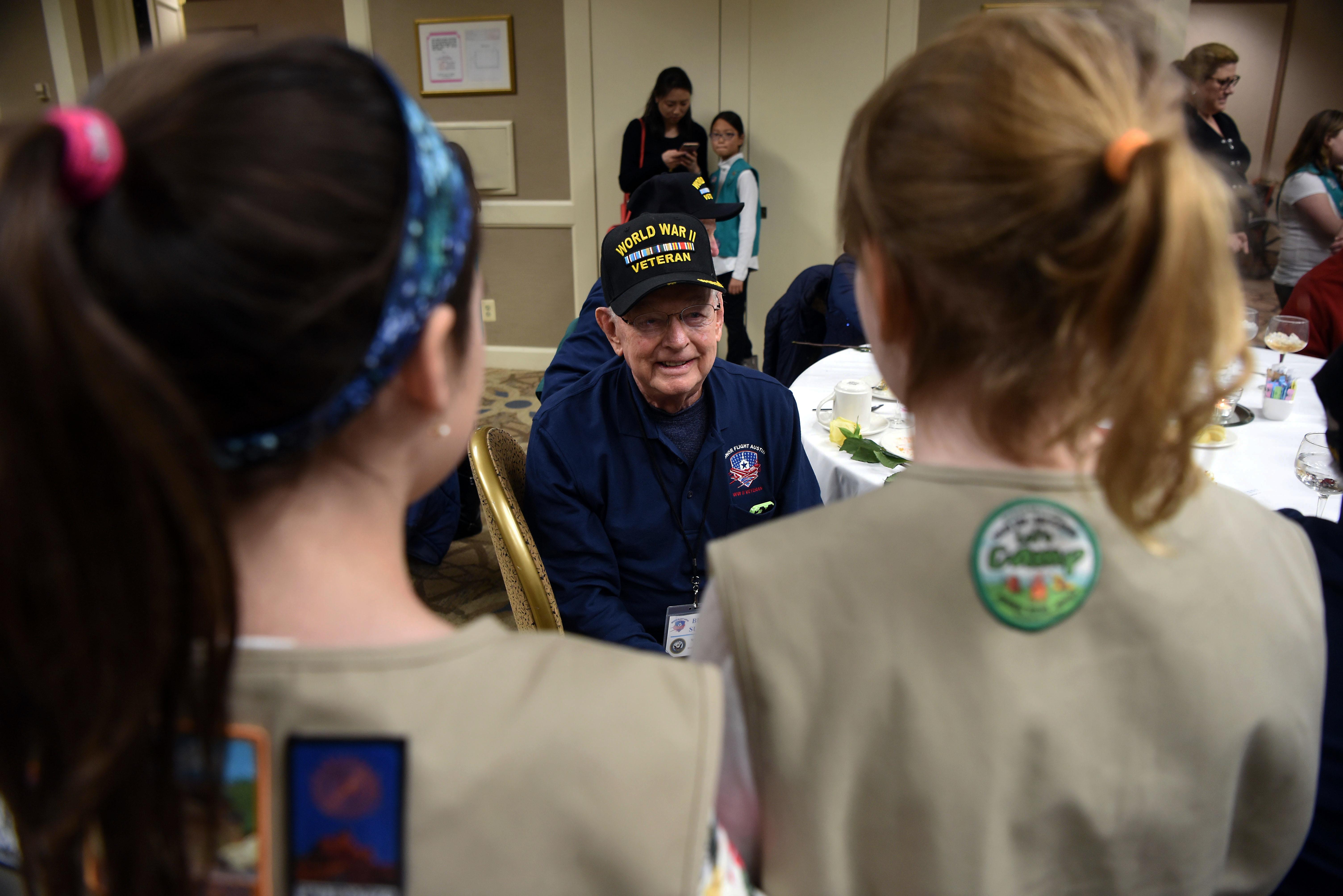 navy veteran Buddy Sutton
