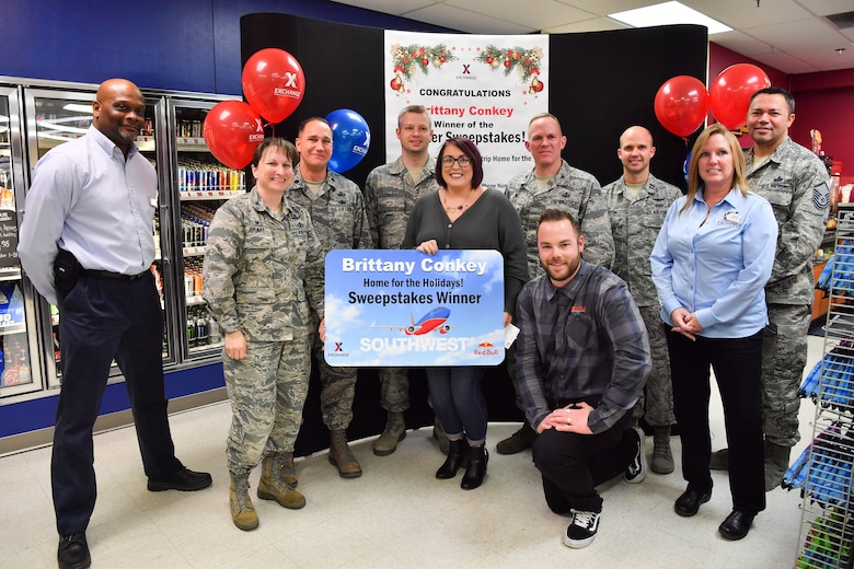 Conkey wins AAFES Home for the Holidays Sweepstakes