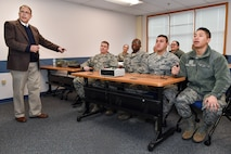 First term Airmen, senior leaders quizzed on Hanscom history