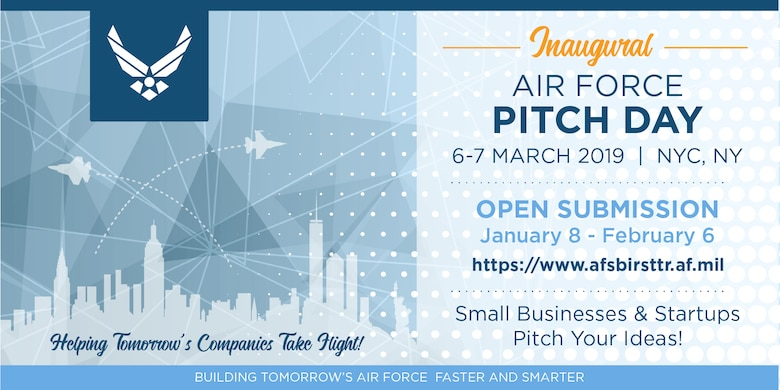 $40M available for start-ups, small businesses through Air Force Pitch Day