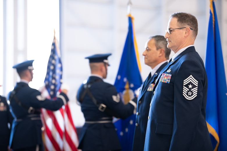 The 349thAir Mobility Wing paid tribute to their most senior enlisted leader, Command Chief Master Sgt. Bryan Payne, during his retirement ceremony on Jan. 12, 2019, at Travis Air Force Base, California.