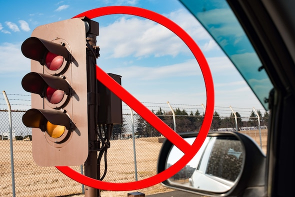 Construction on the north overrun is scheduled to begin January 21. The construction is expected to last 18 months, after which there will be no more need for aircraft traffic lights on the north overrun. (U.S. Air Force photo illustration by Staff Sgt. Kyle Johnson)