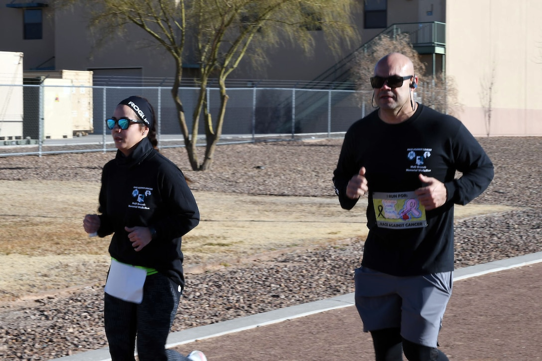 Race against Cancer: 210th RSG holds memorial walk, run event