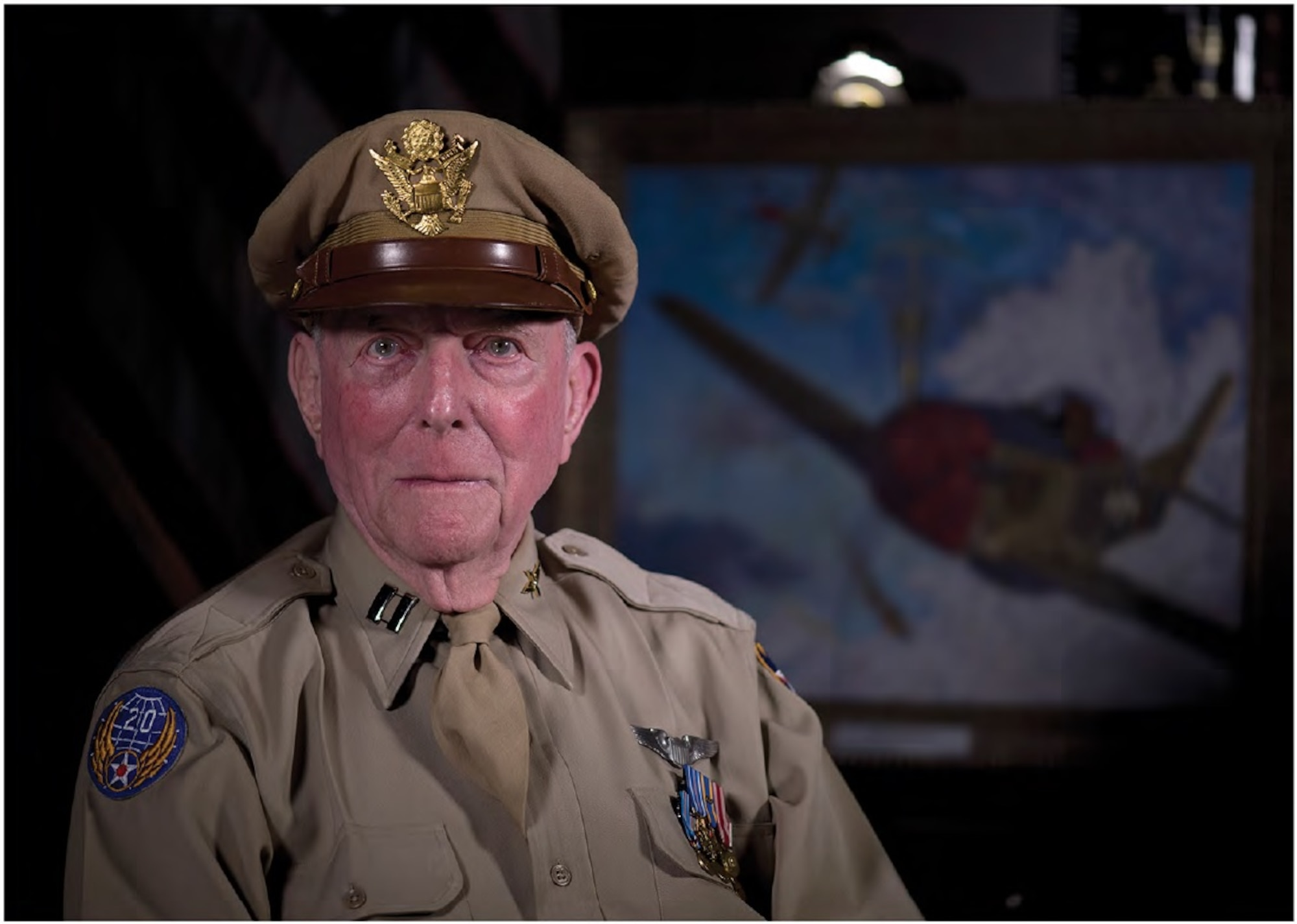 Capt Jerry Yellin, World War II fighter pilot, who flew the last combat mission in August 1945, was laid to rest with full military honors Jan. 15, at Arlington Cemetery, Va.