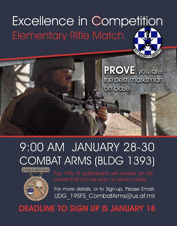 Combat Arms Competition - Jan 2019