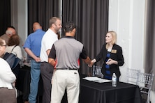 Deputy of Small Business meets with contractors at Open House