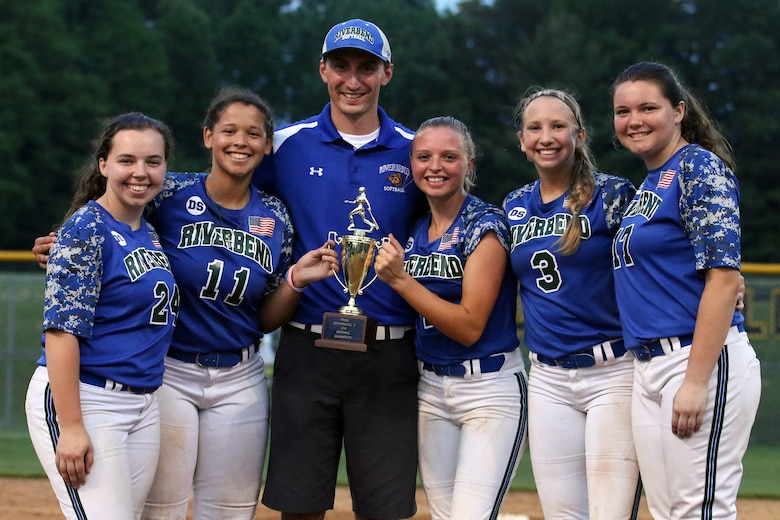 "Senior Airman Robert ""Scott"" Thomas, a traditional reservist with the 718th Intelligence Squadron, lead the Riverbend High School softball team to a record of 19-2, winning the Commonwealth District Championship and winning the first softball Regional Playoff game in school history. Due to their great season, Thomas was awarded District Coach of the Year.  (Courtesy photo)"
