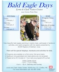 Join us for Bald Eagle Days at the Lewis & Clark Visitor Center Feb. 1-3.