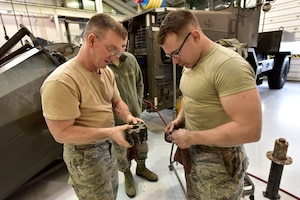 173rd FW Vehicle Maintenance