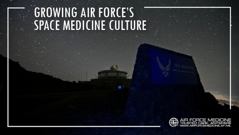 Medical Airmen assigned to U.S. Air Force Space Command are charged with delivering care to the Airmen who launch, monitor and operate the Air Force's satellite systems. As space continues to play an increasingly critical role in our nation's defense, medical Airmen in AFSPC are also preparing for the future of space medicine. (U.S. Air Force illustration)
