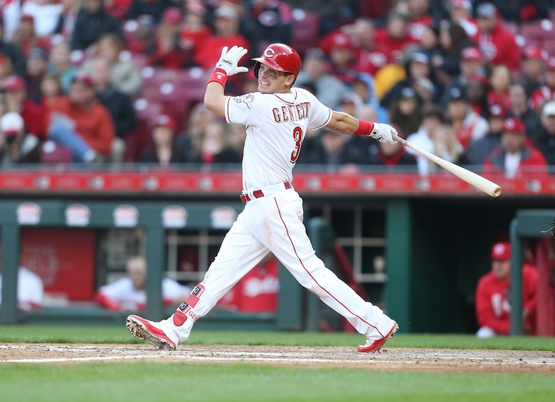 Cincinnati Reds second baseman Scooter Gennett. (contributed photo)